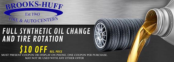 Brooks-Huff Tire & Auto Centers - Promotions